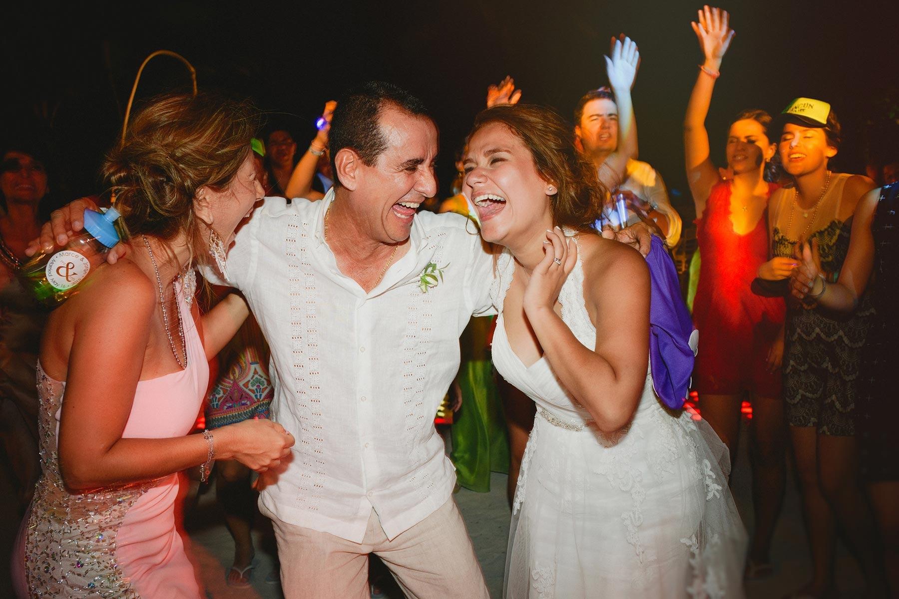wedding party riviera maya