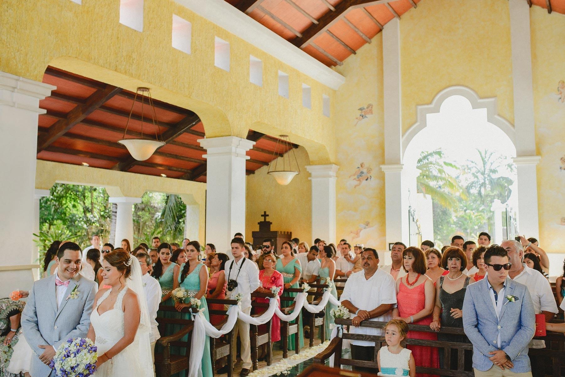grand palladium church riviera maya