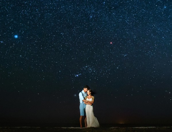 stars in holbox, wedding photographer