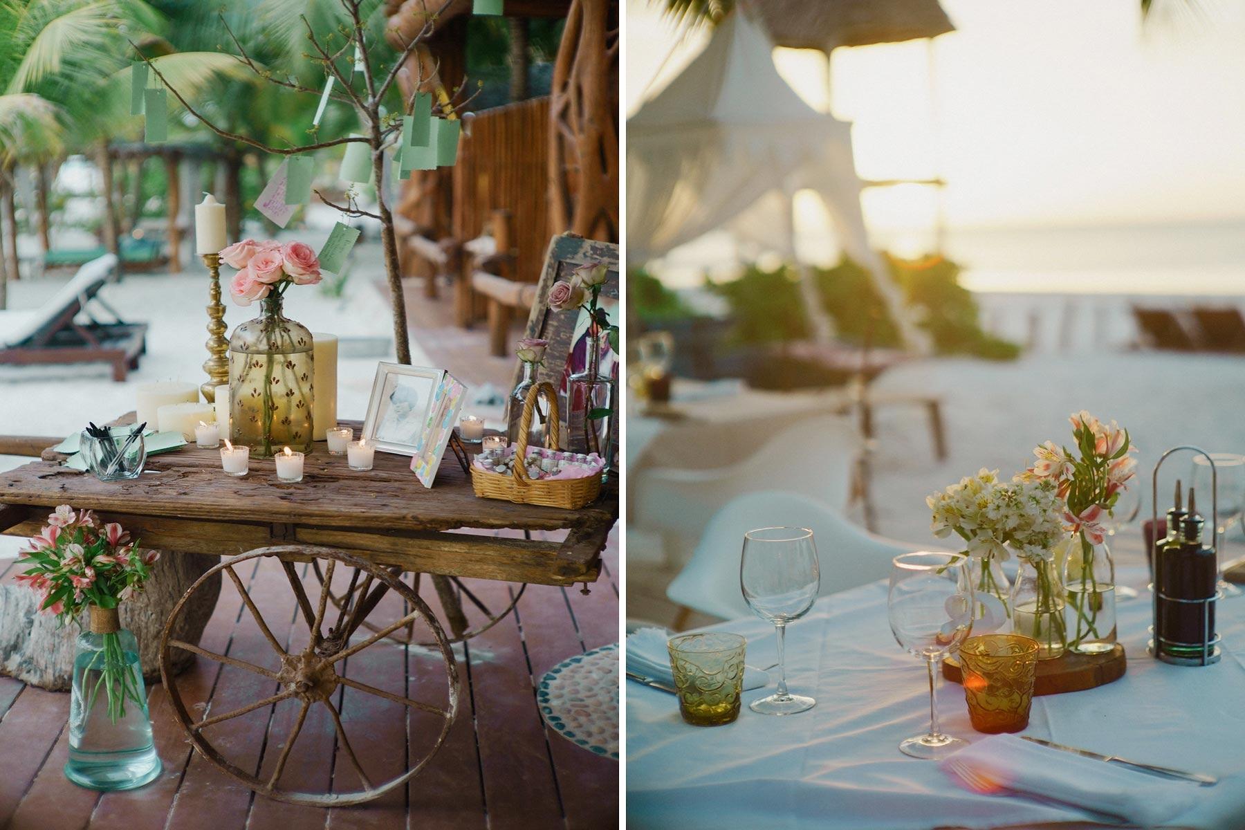 holbox, mexico wedding