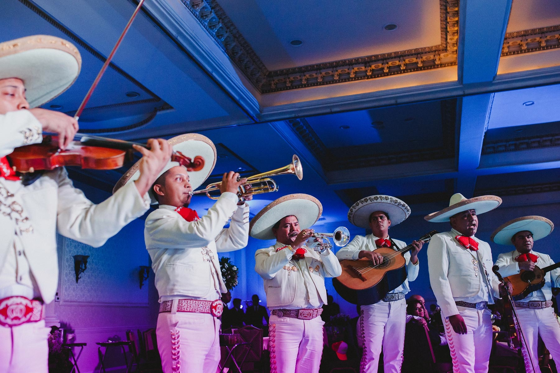 wedding party mariachi