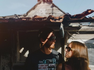 couple in holbox