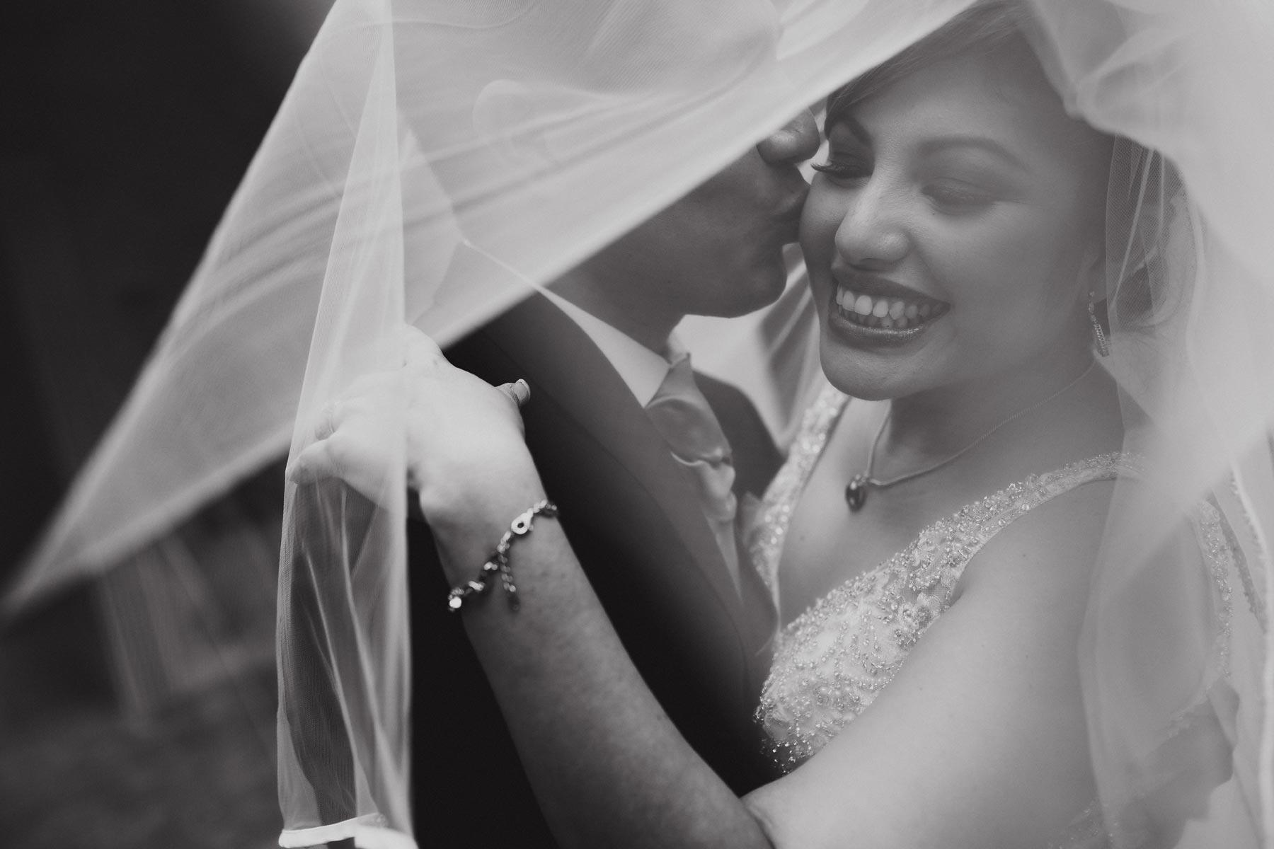 groom and bride mexican wedding