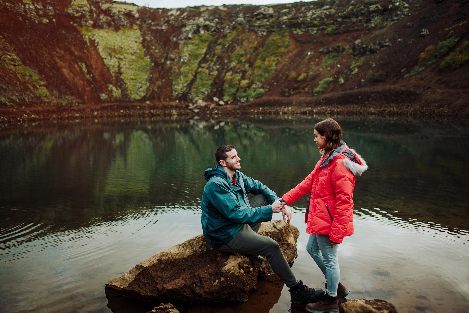 iceland couple kerid