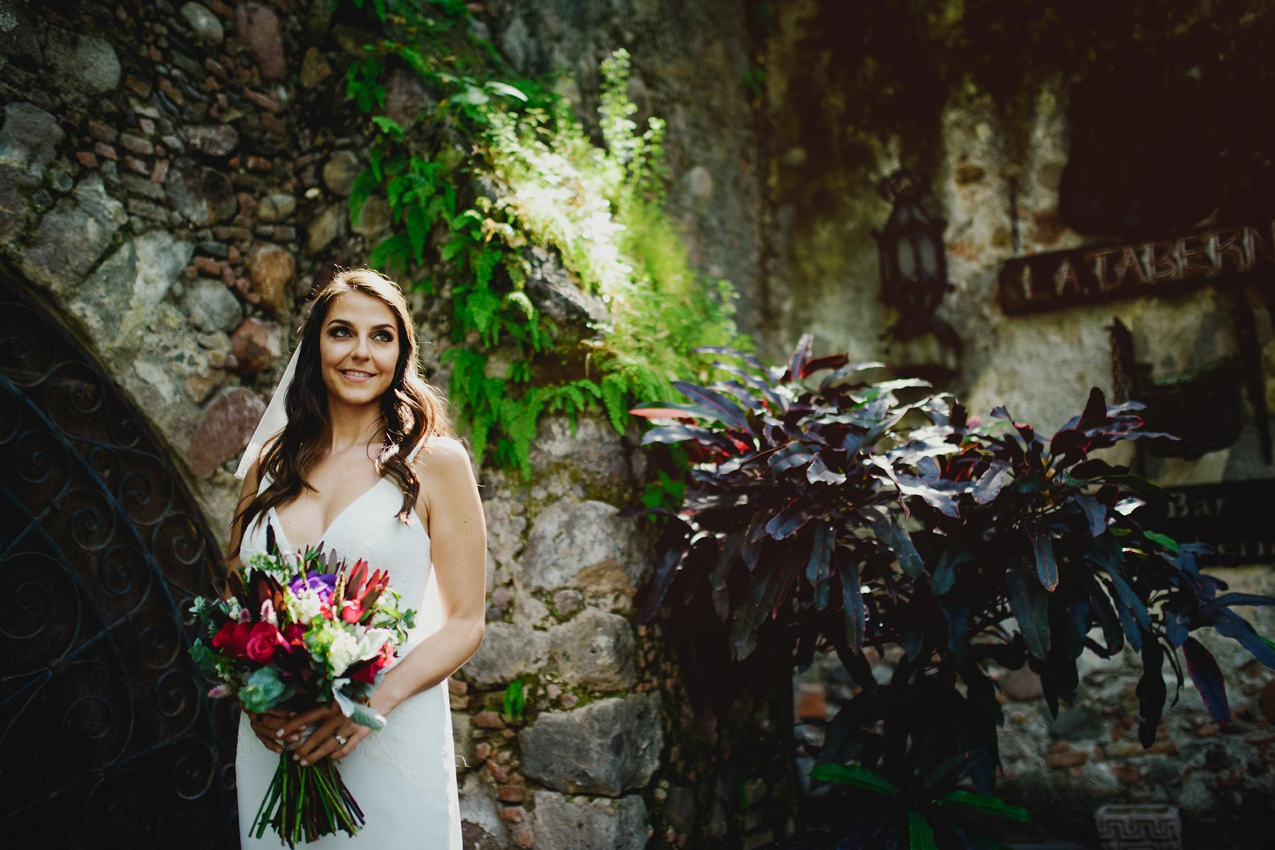 bride boda hacienda vista hermosa