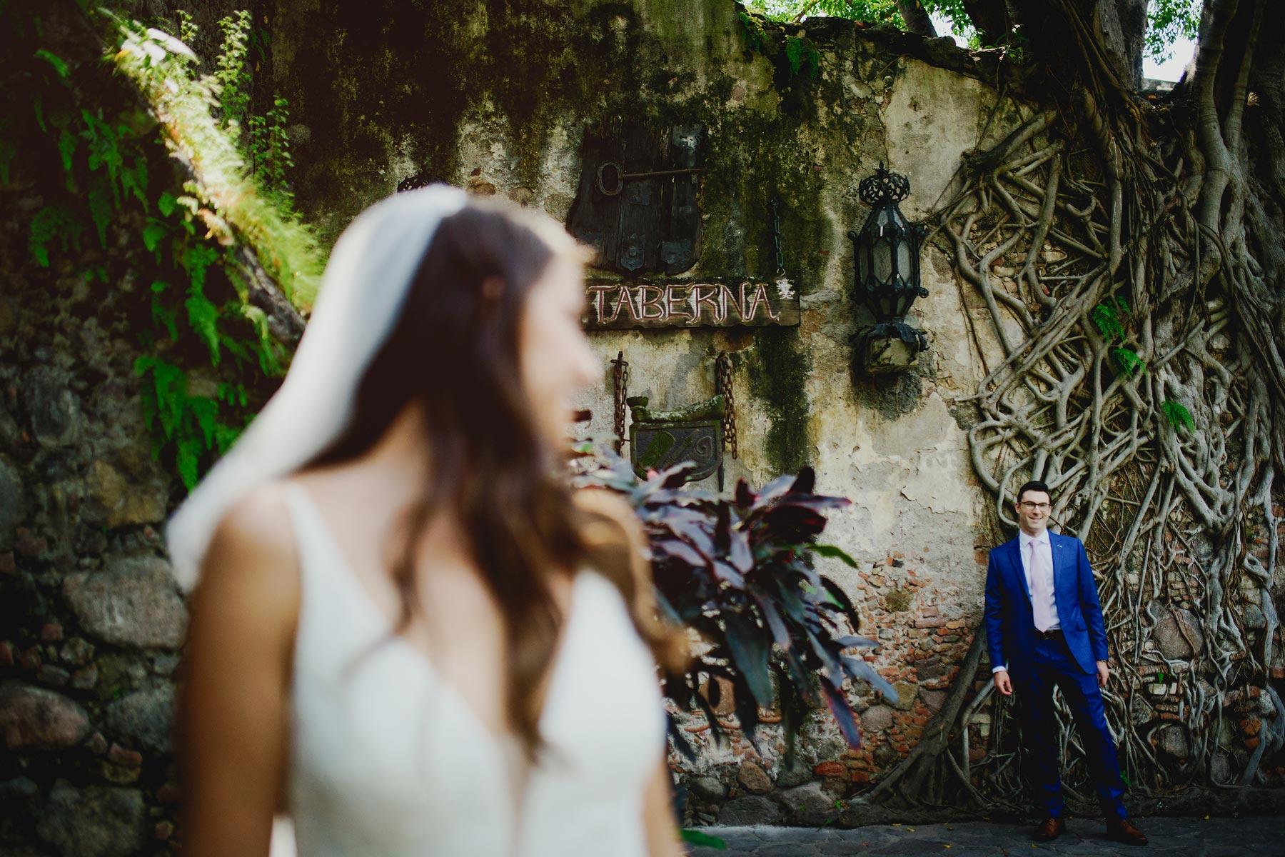 novios boda hacienda vista hermosa