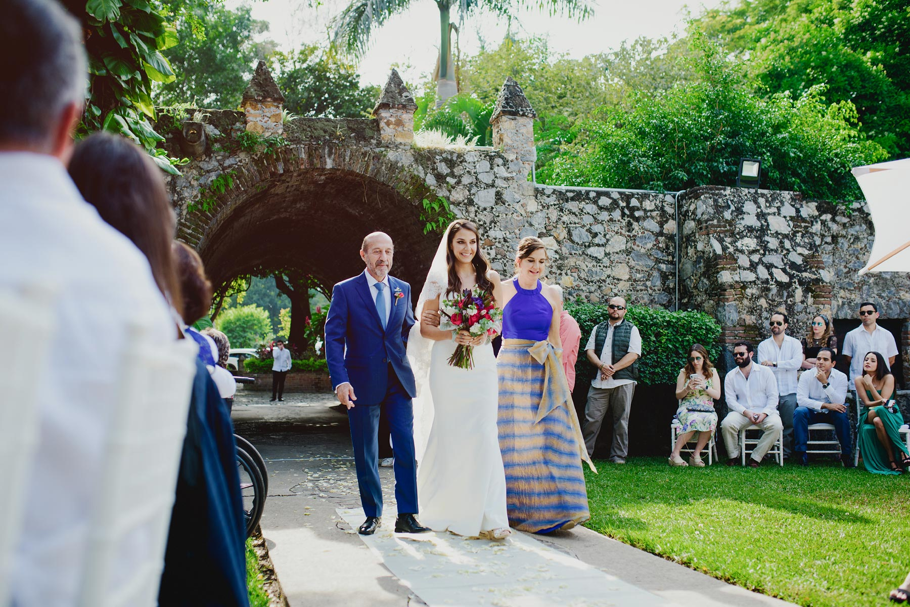 altar boda hacienda vista hermosa