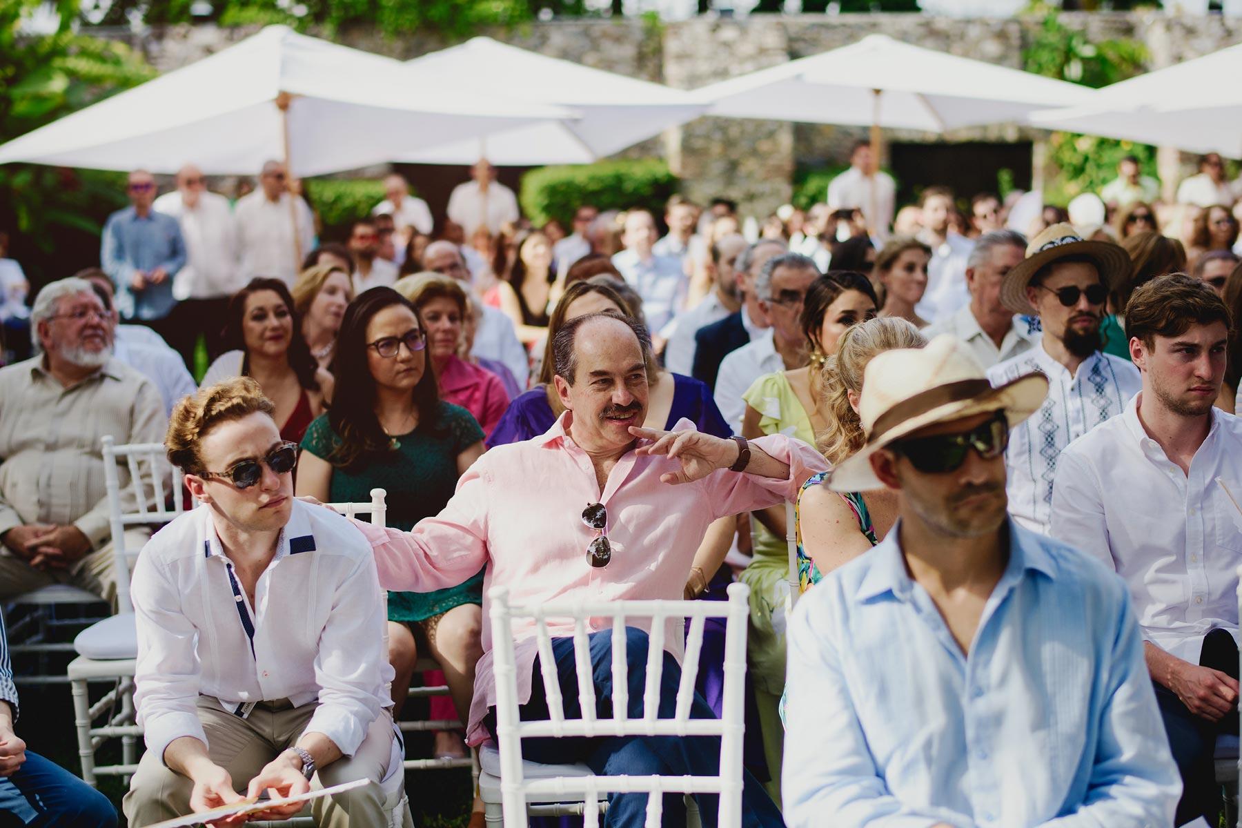 invitados boda hacienda vista hermosa