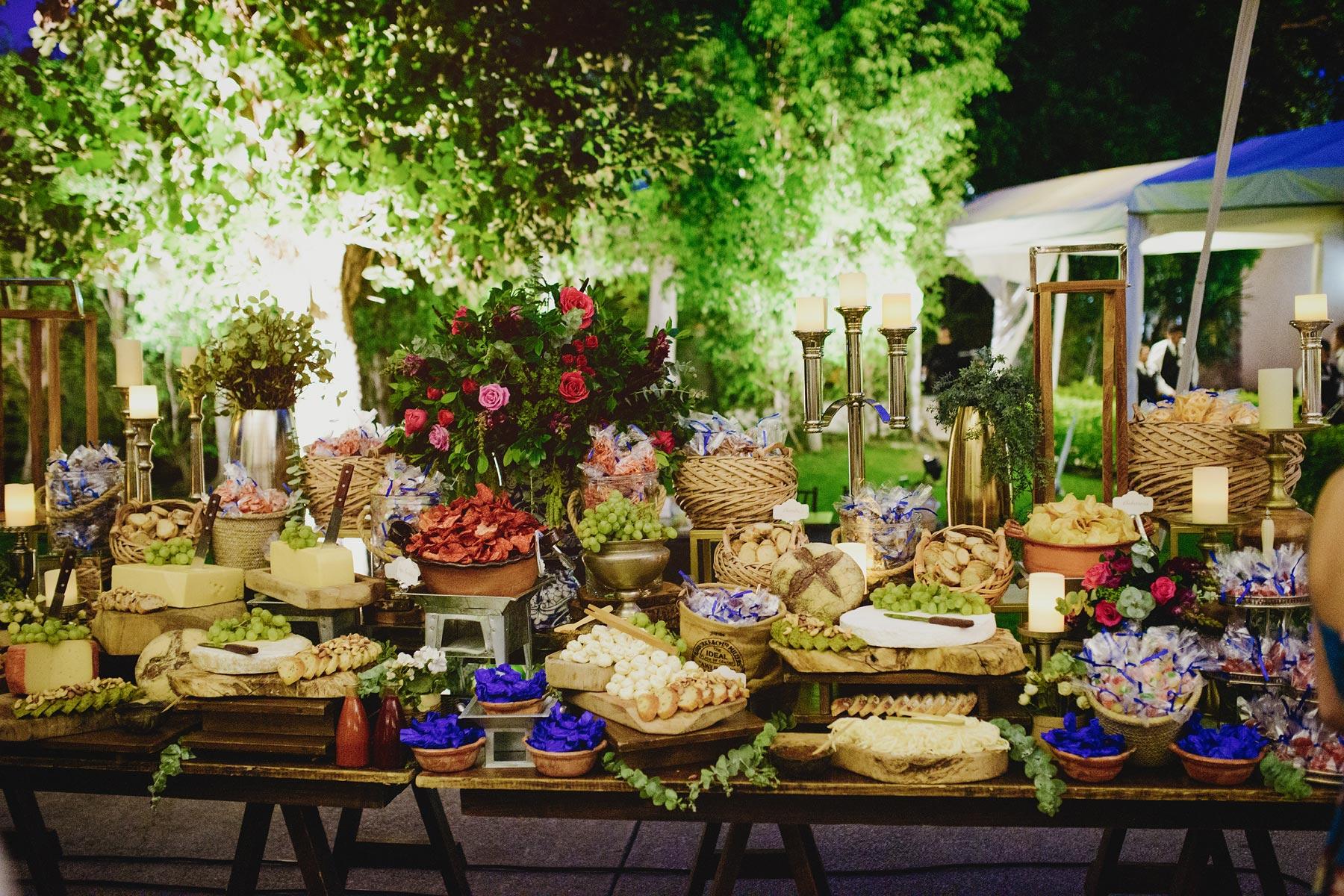 mesa postres boda hacienda vista hermosa